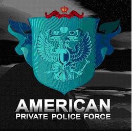 """логотип """"Американ Полис Форс"""